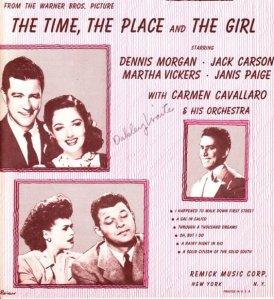 """A Gal in Calico"" sheet music"