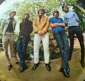 The Byrds in happier times; Crosby on the left