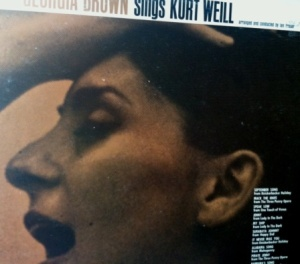 A Weill tribute with two Lady in the Dark songs